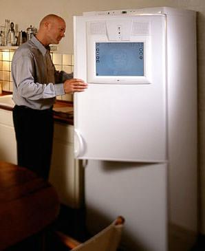 Internet-Kühlschrank, Kühlschrank mit Internetanschluss, Hausgeräte