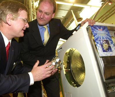 Waschmaschine, Waschmaschinen, bionisch, Bionik, Biometrie, biometrisch, Waschmaschinentrommel, bionische Waschmaschinentrommel, Wäsche, bionisches Prinzip, Trommelwaschmaschinen