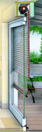 Rollladen, Rollläden, Rollladenkasten, Rollladen-Aufsatzsystem, Aufsatzrollläden, Sturzkasten, Rolladen, Rolläden,  Bauhandwerker, Wärmedämmung, Schalldämmung, Fenster, Wärmebrücken, Wohnzimmerfenster, Balkontüren