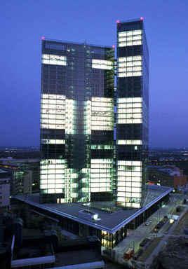 Vienna Twin Tower: Glasfassade, Glasprojekte, Glasarchitektur, Verglasung, Glasfassade, Bürokomplex, Glastechnologie, Sonnenschutzglas, Fassadenarchitektur