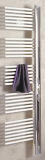 Badheizkörper, Badheizung, Handtuchheizung, Handtuchwärmer, Handtuchhalter, Designheizkörper, Infrarot-Heizpatrone, Heizpatrone, Radiatorheizung, Badezimmer, Zentralheizung, kombinierter Badheizkörper, Warmwasserbetrieb