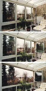 Drehschiebe-Elemente, Spaltlüftung, Fensterflügel, ISYFLEX-Beschlag, Drehkipp-Flügel, Schiebeflügel, Fensterprofile