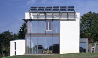 Passivhäuser, Niedrigenergiehäuser, Warmglas, Isolierglas, Passivhaus, Niedrigenergiehaus