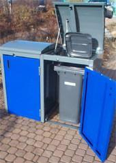ORION-Müllbox, Abfallsammelbehälter, ASB, Mülltonnen
