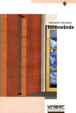 Innenwände, Ziegelwände, Innenwand, Ziegelwand, Wärmeschutz, Wärmespeicherung, Schallschutz, Brandschutz, Ziegel