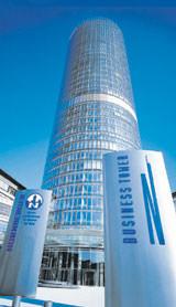 Business Tower der Nürnberger Versicherungsgruppe