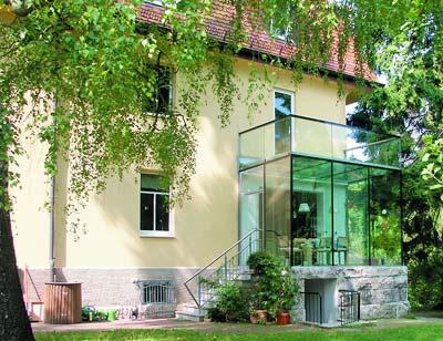 Wintergarten, Glas, Wintergärten