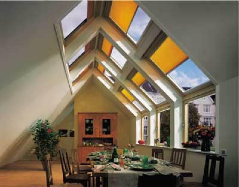 Dachfenster, Fenster im Dachgeschoss, Dachwohnfenster, Dachflächenfenster, Wohdachfenster