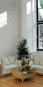 Mauerwerksbau, Kalksandsteinwand, sommerlicher Hitzeschutz, Wandbaustoffe mit Wärmespeicherfähigkeit
