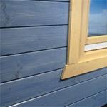 Holzlasur, Holzfassade, Holzpflege, Holzfassade, Holzoberflächen, Fassaden, Pflege, Lasur, Holzpflege, lösemittelhaltige Holzlasur