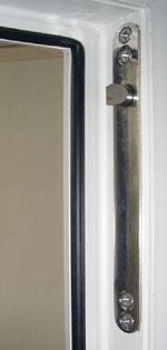 elektromechanische Türverriegelung, Bolzenverriegelung, Schließblech, Türbeschlag, Fensterbeschlag, Baubeschlag, Fluchttüren