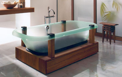 Badewanne, Badewannen, Wanne, Wellness, Sanitäracryl, transluzente Badewanne, Hösch Design, Hoesch Design, Bad, Wohnraum, Wannenkörper