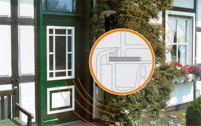 Sensortechnik BiffarProtect Glasröhrchen: Aushebelversuch, Glassensor, Aushebeln, Fensterflügel, Einbruchhemmung, Einbruchsversuch