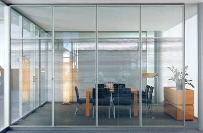 Trennwand, Raumteiler, Trennwände, Doppelverglasung, Glastrennwand, Glastrennwände, Trennwandsysteme, Trennwandsystem, Schallschutz, Brandschutz, Glasscheibe