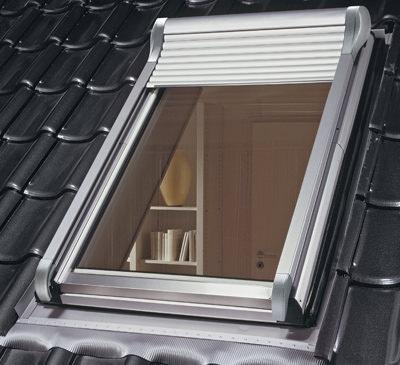 Rollladen, Rollladensystem, Rollläden, Dach, Dachfenster, Wohndachfenster, Dachwohnung, Rollladen-Gehäuse, DachwohnFenster, Dachrollladen, Dachfensterrollladen, Rollladenkasten