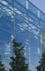 Vogelschlag, Glasarchitektur, Vogelschutz, Greifvogelsilhouetten, Vogelschutzglas