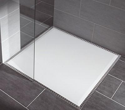 bodenebene Duschplätze, Sanitärtechnik, bodenebenes Duschsystem, Dusche, bodengleiche Duschwanne, Ablaufrost, Ablaufrinne, Wasserablaufkanal, Wasserablauf, Ablaufsystem, Duschplätze, Dichtungsband