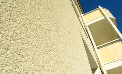 Mineralischer Edelkratzputz, Außenputz, Fassadenputz, Putzfassade, Innenausbau, Wärmedämm-Verbundsystem, Innenwand, Außenwand, mineralischer Edelputz