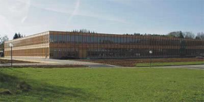 Holzbau, Deutscher Holzbaupreis 2005, Architektur, Bund Deutscher Zimmermeister, Holzwirtschaft, LIGNAplus