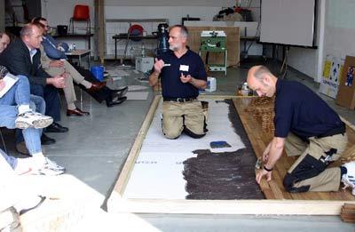 Bodenbeläge, Bodenverlegung, Bodenaufbau, Fließestrich, bodenlegendes Handwerk, Untergrundvorbereitung, Oberflächenveredelung