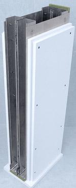 Trockenbau, Brandwand, Brandschutzkonstruktion, Doppelständerwerkswand, F90 Brandwand, Feuerschutzplatten, doppelte Beplankung