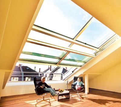 Glasschiebedach, Dachschiebefenster