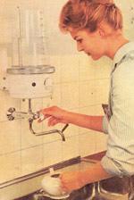 Wasserkocher, Wasserboiler, Boiler, Heißwasserbereitung, Kochendwassergerät, Heißwassergerät, Intervall-Fortkoch-Automatik