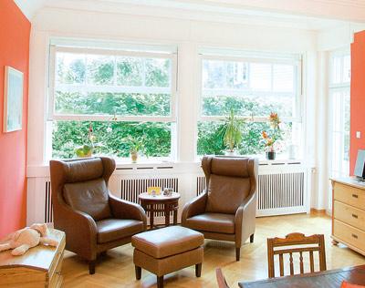 Schiebefenster, Holzfenster, Automatikfenster, Vertikal-Schiebefenster, automatisches Vertikal-Fenster, Fernbedienung