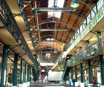 Hamburgs Fischauktionshalle, Hallenheizung, Infrarotheizung, Hamburger Fischmarkt, Infrarottechnologie, Heizung, Infrarotwärme