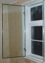 Kastenfenster, Vorsatzfenster, alte Fenster