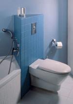 Vorwandinstallation, Schwerlastfuß, WC, Bidet, Bad, Unterputzspülkasten, Installationswand, Unterputzspülkästen, Wandbefestigung, Wand-WC, Installationsschacht