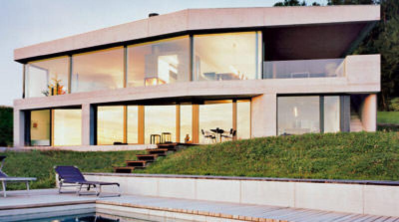 Einfamilienhaus, elegante Innenräume