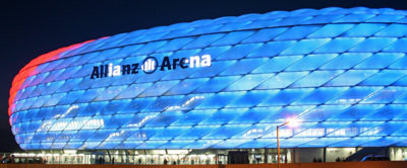Kunststoff-Membran der Allianz Arena