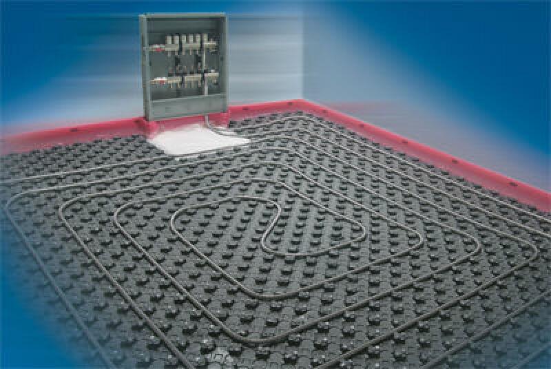 Kunststoffverbundrohr, Verbundrohr, Flächenheizung, Noppenplatte, Fußbodenheizung, Wandheizung, Industriefußbodenheizung