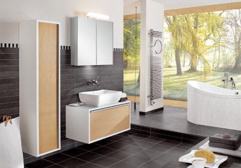 Badheizkörper, Sanitärkeramik, Bad-Heizkörper elektrischer Anschluß, Zentralheizung, Badezimmer, Villeroy & Boch by Zehnder, Lifestyles