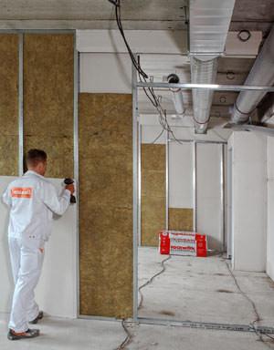 XPR, Trennwände, Trennwand, Türzargen, T30-Tür, Tür, Türen, Trockenbau, Türzarge, Trockenbau-Wandsysteme, Trockenbauwand, Dämmung, Brandschutz, Schallschutz, T90-Tür, F90-Konstruktion