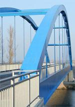 Brücke, Stahlkonstruktionen, Bausubstanz, Brückensanierung, Stahlbau, REFRESH, Bauwerkserhaltung, Schweißnähte, HiFIT, geschweißte Stahlkonstruktion