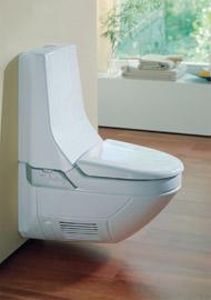 Dusch-WC mit Intimhygiene, Lady-Dusche anstatt Bidet, Bidet-Dusche