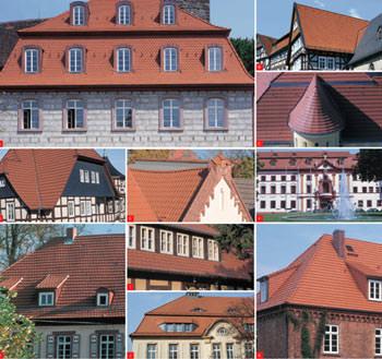 Braas Broschüre, Denkmalschutz-Broschüre, Tondachziegel