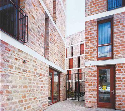 Ziegelarchitektur, Architektur, Brick Award 2006, Ziegelfassade, Architekturpreis, Ziegel, zeitgenössischen Architektur, Ziegelfassaden, geschlämmte Ziegel