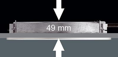Einbauleuchte, Downlight, Einbauleuchten, WILA Lichttechnik GmbH, Kompaktleuchte, Kompaktleuchten, Deckeneinbau, Einbautiefe, Deckenleuchte, Downlights, Deckenleuchten, Deckensystemen