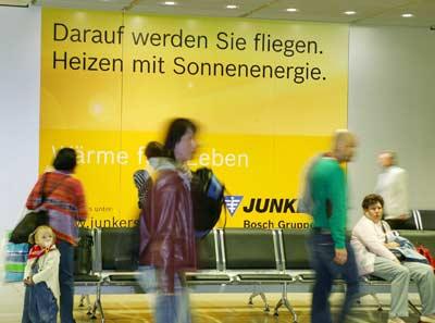 Junkers, Thermotechnik, Nutzung der Sonnenenergie, kostenlos, Marketingkampagne, Heizen mit Sonnenenergie, Heizungsmodernisierung