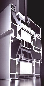 Aluminiumfenster, Metallfenster, Fenster, Blockfenster, Fenstergeneration, Schüco AWS, Aluminium Window System, geringe Bautiefe, Fensterprofil, Wärmedämmung, Fensterprofile aus Aluminium, Blockfensterkonstruktion, Fensterbeschlag, Schüco AvanTec, Fenstertechnik, Schüco TipTronic