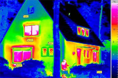 Gebäude-Thermografie