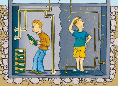 Mineralwolle, Leitungen dämmen, Rohre dämmen, Dämmschalen, Heizungsrohre, Warmwasserleitungen, Armaturen, Dämmschale, Heizungsrohr, Warmwasserleitung, Kellerräume, Rohrdämmung, Dämmung, Heizwasserkreislauf