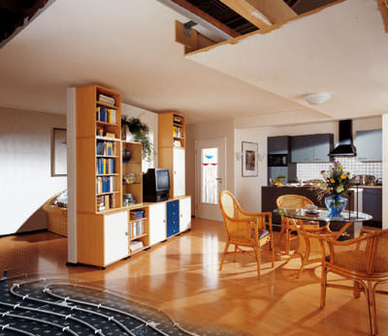 Flächentemperierung, Kältestrahlung, Bauteilaktivierung, Flächenkühlung, Fußbodenkühlung, Klimaanlage, Klimaanlagen, Fußbodenkühlung bevorzugt, Luftfeuchte, Luftfeuchtigkeit, Bundesverband Flächenheizungen und Flächenkühlungen e.V. BVF, Oberflächentemperatur