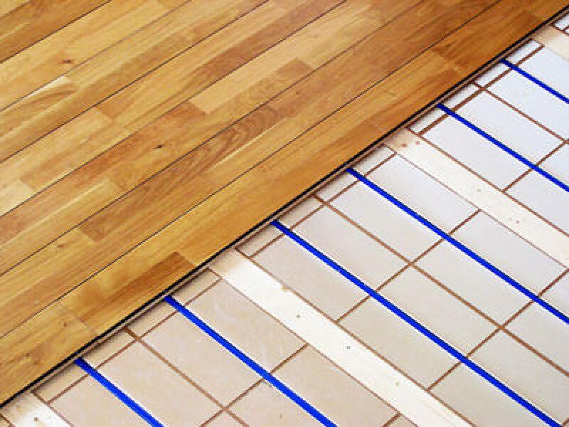 Fußbodenheizung, Trockenbausystem, Heizsysteme, Flächenheizung, Fußbodenheizungen, sehr kurze Aufwärmphase, Fußboden-Heizsystem