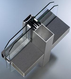 Riegel-Riegel-Fassade, Aluminiumfassaden, Glasfassade, Pfosten-Riegel-Fassade, Glasfassaden, Riegel-Riegel-Konstruktion, Fassadenkonstruktion, Fassadensystem, Pfosten-Riegel-Konstruktion