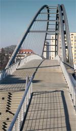 Dreiländerbrücke, Fußgängerbrücke, Radwegbrücke