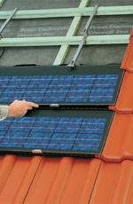 Photovoltaik, Solarstrom-System, Solarzellen, Fotovoltaik, Solar-Energie, Solarstrom, Solarmodule, Solarmodul, Dacheindeckung, Dachhandwerker-Fachbetrieb